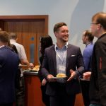 Coffee and catch ups at ScotSoft 2017